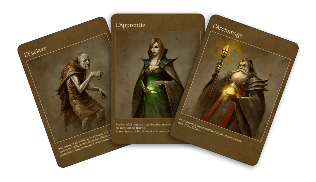 Chronicles of Waral - cards